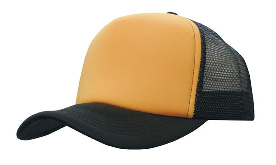 truckers-mesh-cap-gold-black