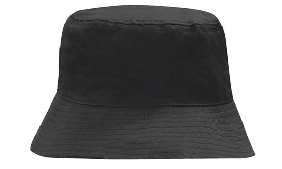 breathable-poly-twill-bucket-hat-black