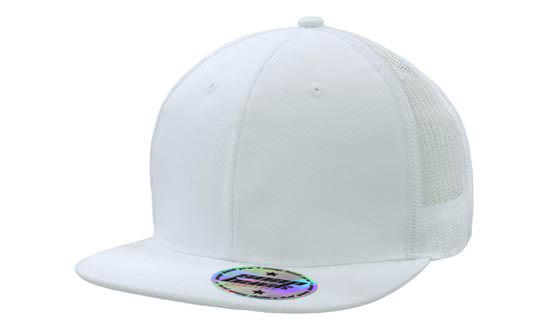 white-navy-premium-american-twill-cap-with-snap-back-pro-styling