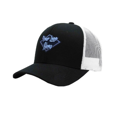 Brushed Cotton Cap with Mesh Back