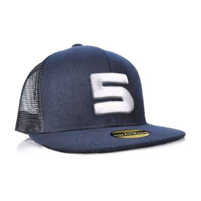 Double Snap Back Mesh Cap