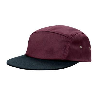 Cotton Twill Square Front Cap
