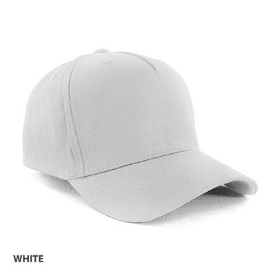 G 5-Panel Cap in 100% Cotton